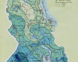 климатическая карта Карелии