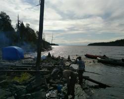 рыбалка сегозеро вторая стоянка