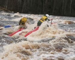 купить  водный поход по реке Шуя с катаниями на пороге Большой Толли