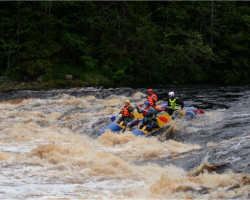 Поход по реке Шуя в Карелии