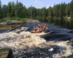 купить поход по реке Шуя на неделю