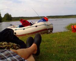 заказать сплав по реке Суна в Карелии