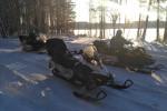 снегоходный тур на выходные
