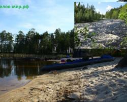 купить поход по реке Воньга на байдарках и катамаранах