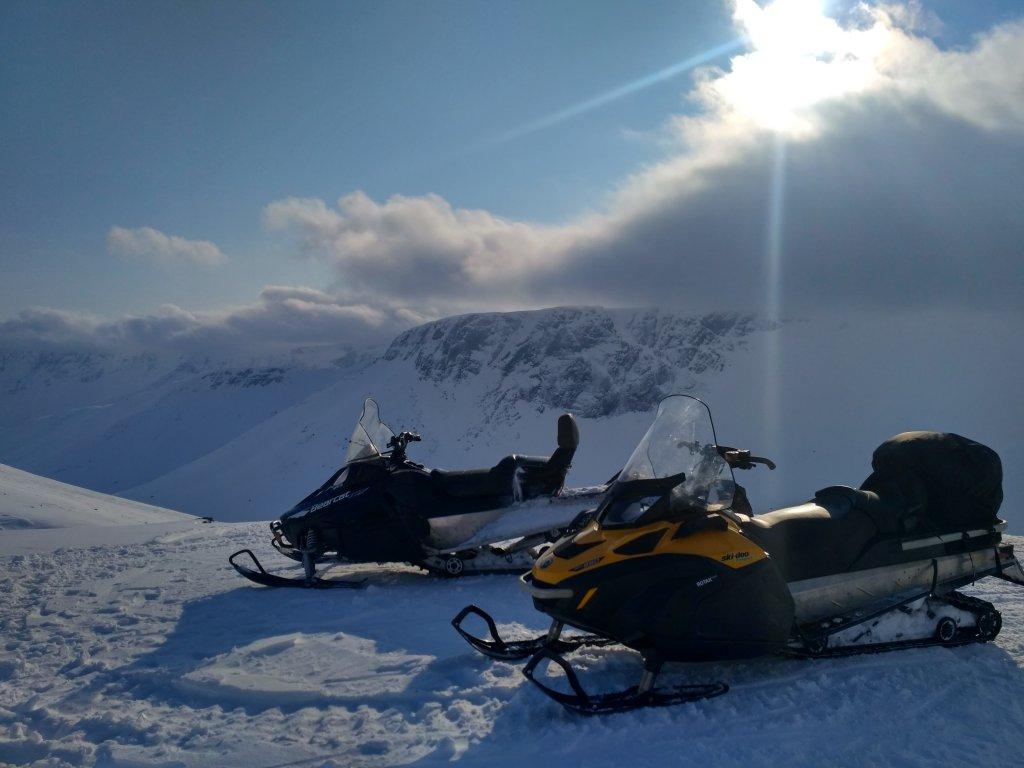 Хибины на снегоходах
